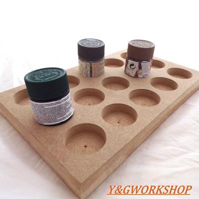 Plateau de rangement pour 15 pots de peinture 15 10ml