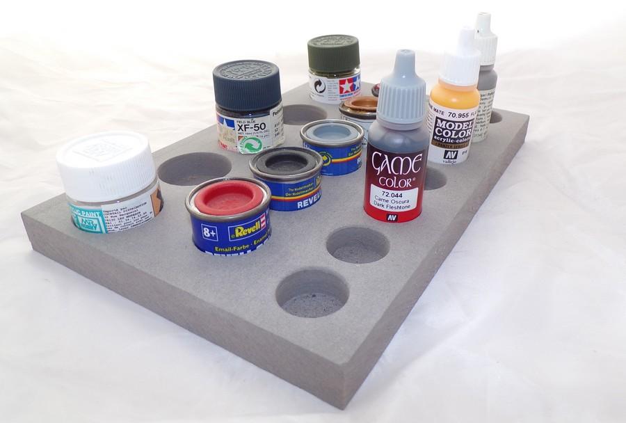 Plateau multiple rangement peinture