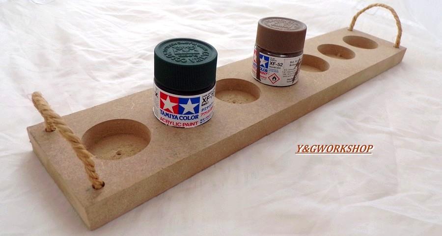Plateau rangement de peinture pour tamiya 23 ml